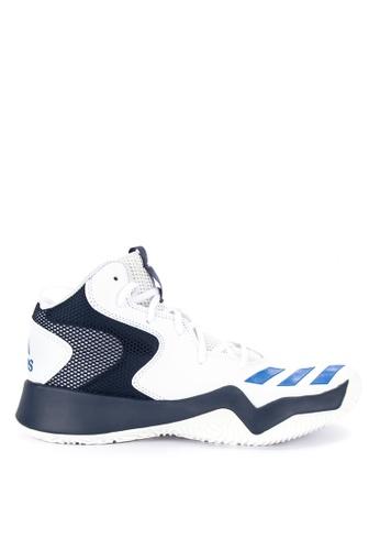 adidas white adidas crazy team ii E1F50SH665B923GS_1