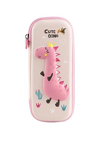 Twenty Eight Shoes pink VANSA Little Dinosaur Series Pencil Case  VAK-A6693 8298EKC96399D2GS_1