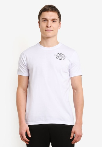 Graphite white Run The Day T-Shirt GR677AA0SCA2MY_1