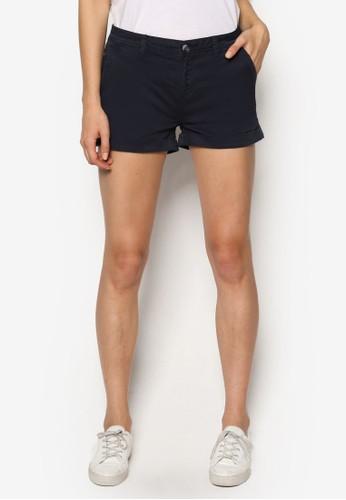 Thesprit台灣門市e Slant 口袋奇諾短褲, 服飾, 服飾