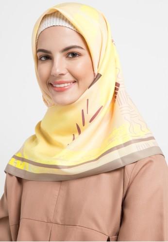 Allea by Itang Yunasz yellow and multi Ferda Scarf 7AB47AAD08F530GS_1