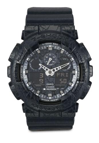 Casio blue Casio G-Shock Watch GA-100CG-2ADR CBA72AC2D2B45FGS_1