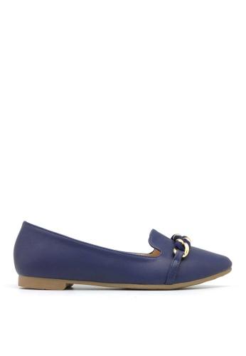 Carlo Rino blue Carlo Rino 33320-A014-13 Round Toe Flats (Blue) 9142CSH1F985F5GS_1