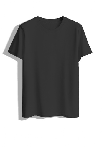 Twenty Eight Shoes black VANSA Two-piece Short Sleeve Tee Shirt VCM-T1801066 BF08CAA26BD010GS_1