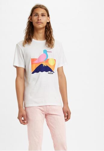 Levi's beige Levi's® Men's Classic Graphic T-Shirt 22491-0859 5460EAA3726D06GS_1
