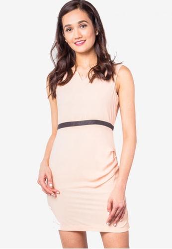 616423d5d5eb Shop LA VIDA MODA Fiona Pleated Short Dress Online on ZALORA Philippines