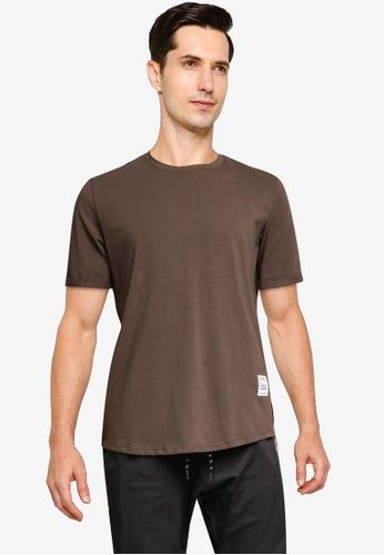 SPARROW GREEN 褐色 素色T恤 B73FEAAA8A3807GS_1