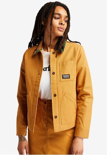 Timberland yellow YC DWR Workwear Insulated Chore Jacket AE31FAA9F742E4GS_1