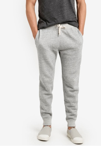 Abercrombie & Fitch grey Essential Jogging Pants AB423AA35IOUMY_1