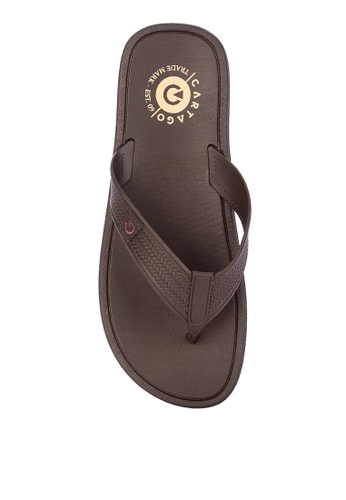 Cartago brown Maiorca Essencial Flip Flops 1222ASH8B0A608GS_1