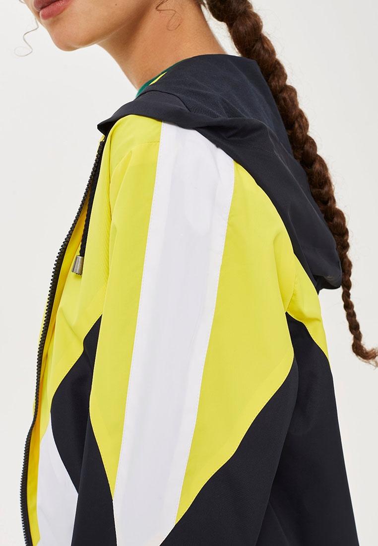 Block Yellow Windbreaker TOPSHOP Jacket Colour 5x0nx8fq