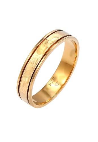 Elli Germany gold Perhiasan Wanita Perak Asli - Silver Cincin Coupling Ring Wedding Gold Plated AC4D3AC4F16946GS_1