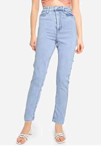 Cotton On 藍色 Ultra High Super Stretch Jeans A22DAAAB8B0378GS_1
