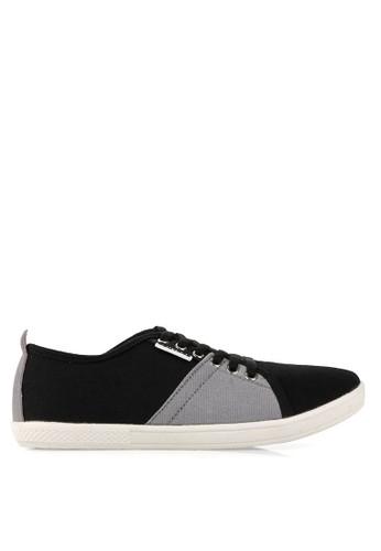 Homypro black Perry Men Sneakers HO843SH20VIHID_1