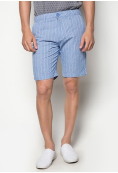 Men's Textured Fabric Walk Shorts