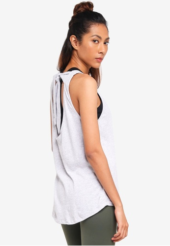 Cotton On Body grey Scooped Knot Tank Top 55DA2AA2AC69AFGS_1