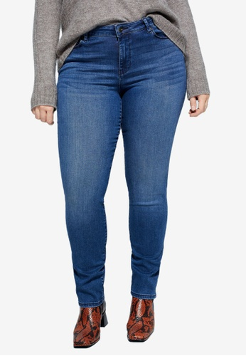 Violeta by MANGO blue Slim-Fit Valentin Jeans 9B75AAA591E944GS_1