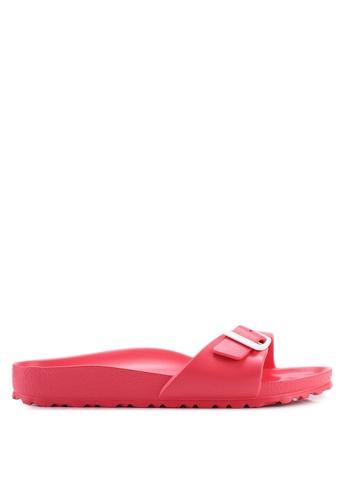 Birkenstock red Madrid Eva Sandals B484ESHA53A43BGS_1