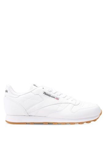 Reebok white Classic Leather Shoes RE691SH0SX1RMY_1