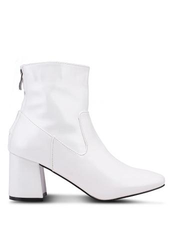 Public Desire white Radio Boots 943BDSH2B7E2E0GS_1