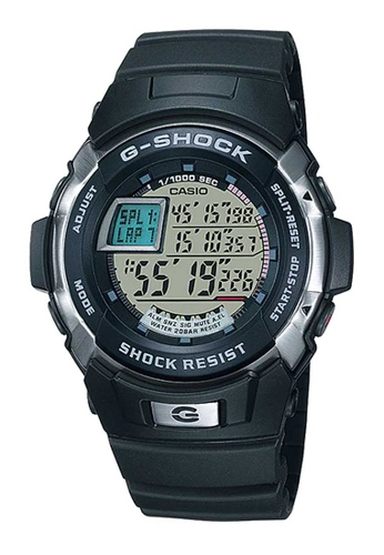 CASIO black Casio G-Shock Silver and Black Resin Watch 59951AC3C1142AGS_1