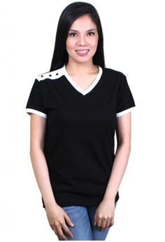 Sassy Casual V-Neck Shirt