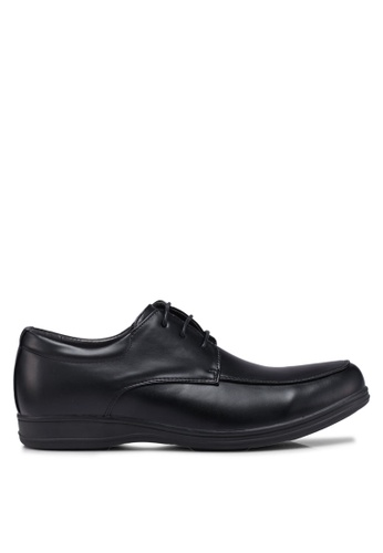 Bata black Laced Up Dress Shoes 2E0DCSHA74502FGS_1