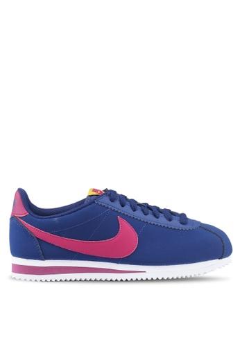 Nike blue Nike Classic Cortez Leather Shoes CADEBSHAEC79EBGS_1