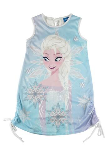KIDS ICON blue KIDS ICON - Dress Anak Perempuan 4-12 tahun DISNEY Frozen with Printing detail - FZ500100200 4B74AKA333B1F7GS_1