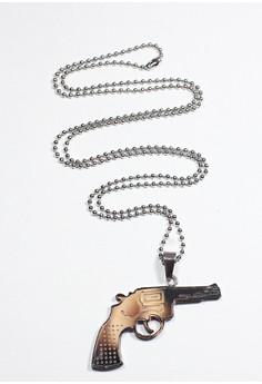 Guns & Goons Steel Necklace