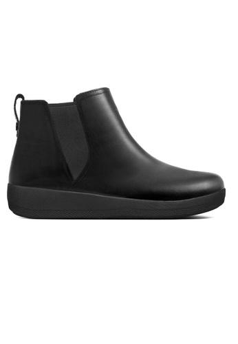 7dd5ebfacb02 Fitflop black Fitflop Superchelsea Boot Black 7BB4ESHFA71AC1GS 1