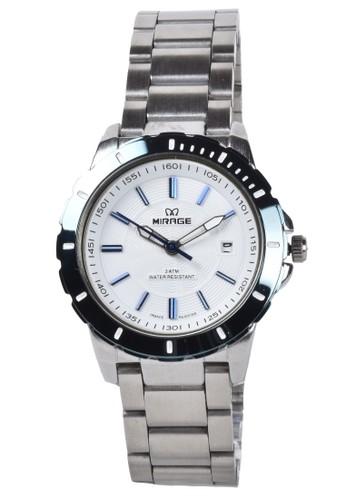 ... Digitec white Mirage Jam Tangan Wanita Silver Stainless Steel Bracelet 8549