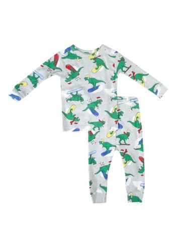 GAP grey Dino Pyjama Set A2002KA99ACC76GS_1
