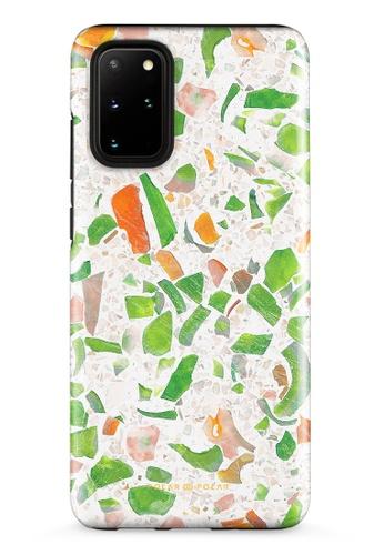 Polar Polar green Terrazzo Green Samsung Galaxy S20 Plus 5G Dual-Layer Protective Phone Case (Glossy) EC818AC5ADCB80GS_1