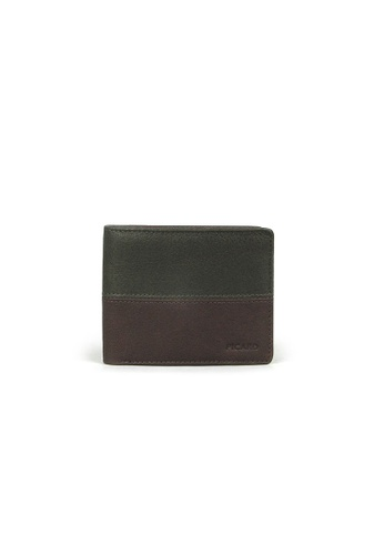 Picard green Picard Dallas Bifold Wallet with Zipped Pouch in Khaki 6F75BAC5B509FCGS_1