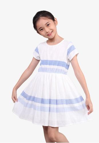SODA blue Summer Striped Dress - BLUE 9EB18KA0AF6747GS_1