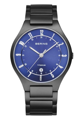 Bering black Classic 11739-727 Blue 39 mm Men's Watch F7DABAC6D198BCGS_1