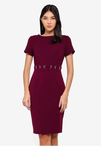 Paper Dolls purple Purple Eyelet Dress 8470BAACD89539GS_1