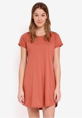 Cotton On brown Tina Tshirt Dress CA5EEAA21C2079GS_1