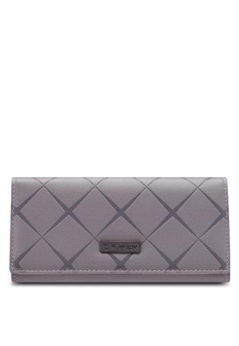 PLAYBOY BUNNY grey Tri-Fold Wallet C0C80AC615744FGS_1