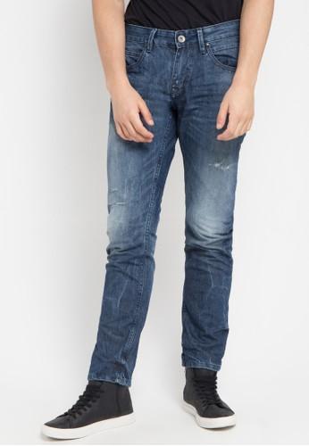 Cressida blue Slim Fit In Medium Wash I004 CR235AA60UMDID_1