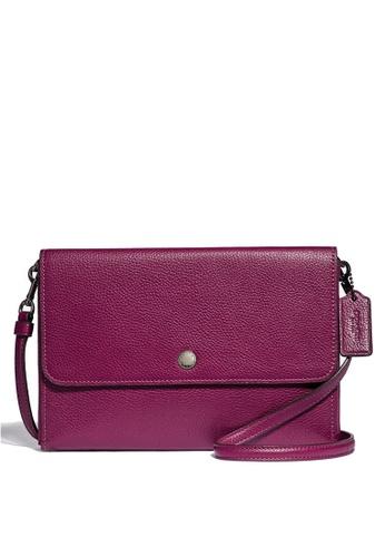 Coach purple Triple Crossbody Bag (cv) B2D78AC9242506GS_1