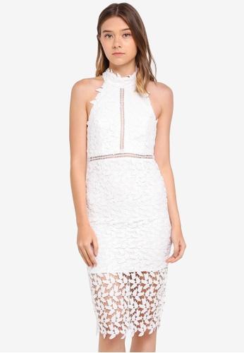 Bardot white Gemma Dress BA332AA0ST82MY_1