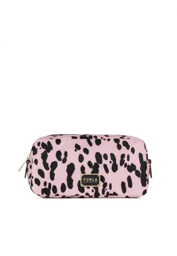 Furla pink Furla Digit L Cosmetic Case DD533ACA064114GS_1