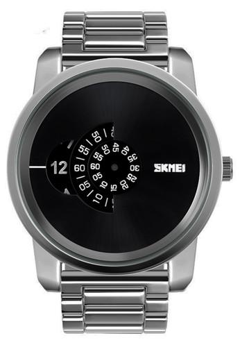 Digitec silver Skmei - Jam Tangan Pria - Silver - Stainless Steel - 1171-A 6A772ACF24FE4DGS_1