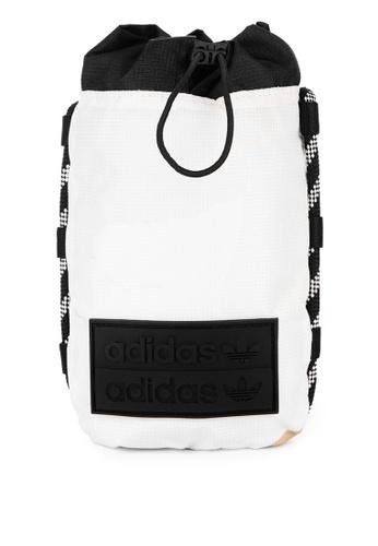 ADIDAS white r.y.v. allover print festival bag C1754AC25BBDFDGS_1
