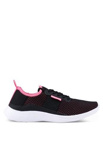Power 黑色 and 粉紅色 Power 運動訓練鞋 CBF0ESH08EA8C7GS_1