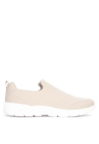 Jump beige Kinros Slip-On Sneakers D1ED0SH3FB0A96GS_1