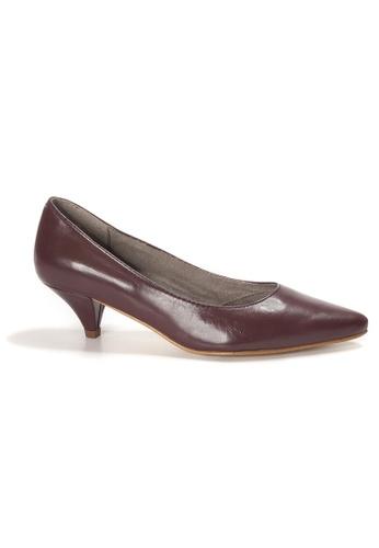 Shu Talk red AMAZTEP Simply Elegant Pointed Toe Heels 8995CSH9326867GS_1