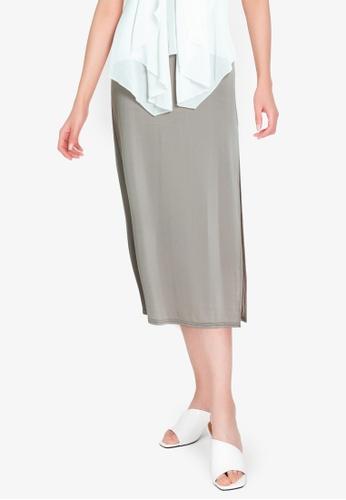 Chictees brown Leslie Skirt D49A5AAD219613GS_1